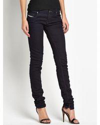 Diesel Grupee Jogg Jersey Sweat Jeans - Lyst