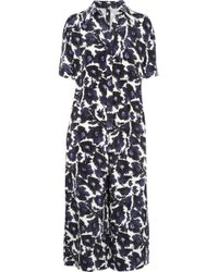 Mother Of Pearl - Dal Printed Silk Crepe De Chine Jumpsuit - Lyst