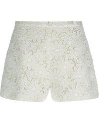 Giambattista Valli Embroidered Shorts - Lyst