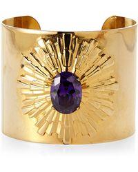 Janis By Janis Savitt | Gold-Tone Risen Sun Cuff Bracelet | Lyst