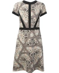 Etro Paisley Shift Dress - Lyst