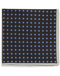 Ted Baker Silk Blend Pocket Square - Lyst