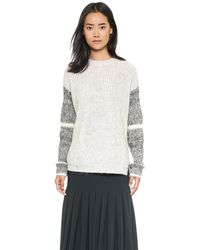 Yigal Azrouel Oversized Pullover  Platinum - Lyst