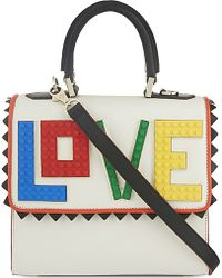 Les Petits Joueurs | Mini Alex Lego Love Handbag | Lyst