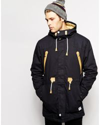 Clwr Parka With Insulation - Black