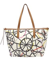 Fossil - Sydney Printed Shopper Bag - Lyst
