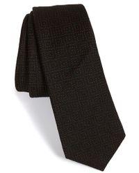 W.r.k. - Grid Wool Tie - Lyst