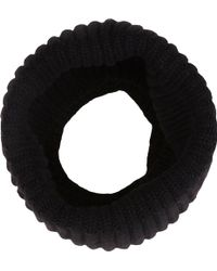 Barneys New York English Rib-Knit Cowl - Lyst