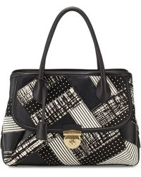 Ferragamo | Fiamma Graphic Calf-hair Tote Bag | Lyst