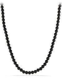 David Yurman Spiritual Beads Necklace 6mm - Lyst
