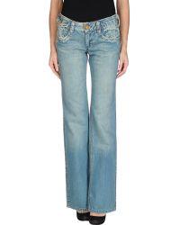Pepe Jeans Denim Trousers - Lyst