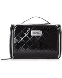 Kenneth Cole Reaction | Black & Pewter Quilted Train Case | Lyst
