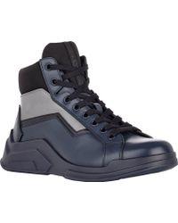 Prada Side-zip Sneakers - Lyst
