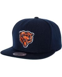 Mitchell & Ness The Chicago Bears Wool Snapback - Lyst