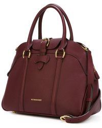 Burberry - Buckle Fastening Tote - Lyst