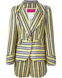 Christian Lacroix - Striped Shorts Suit - Lyst