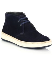 To Boot Layton Suede Chukka Sneakers - Lyst