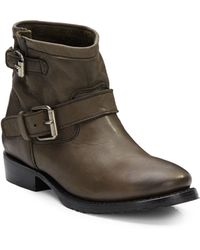 Ash Vegas Bis Leather Ankle Boots - Lyst