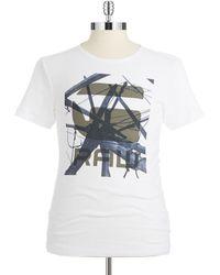 G-star Raw Raw Graphic T Shirt - Lyst
