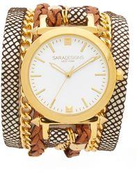 Sara Designs - Classic Wrap Watch - Lyst