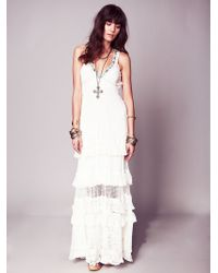Free People Kristal'S Limited Edition White Dress - Lyst