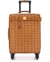 MCM - Trolly Cabin Luggage Case - Cognac - Lyst