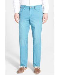 Tommy Bahama Denim 'Montana' Straight Leg Pants blue - Lyst