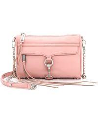 Rebecca Minkoff Mini Mac Cross Body Bag - Primrose - Lyst