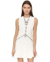 Laura Cantu - Statement Body Chain / Necklace - Lyst