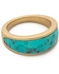 Pamela Love Inlay Cocktail Ring  - Lyst