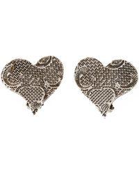 Christian Lacroix - 'finest Hearts' Earrings - Lyst