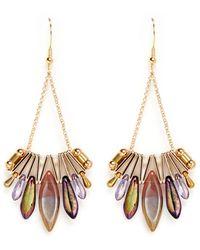 Scho Glass Bead Earrings - Multicolor