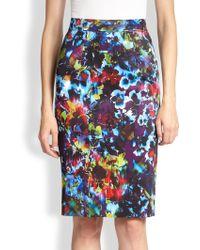 Nanette Lepore Fresco Pencil Skirt - Lyst