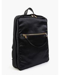 Marc Jacobs Men'S Black Satin Backpack black - Lyst