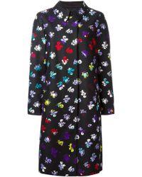 Diane von Furstenberg | Floral Print Coat | Lyst