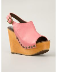 Jeffrey Campbell Wedge Sandals - Lyst