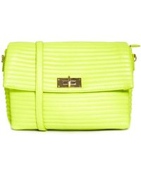 Asos Oversized Quilted Clutch Bag with Chunky Lock Fitting - Lyst