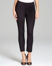 Adrianna Papell - Seamed Ponte Leggings - Lyst
