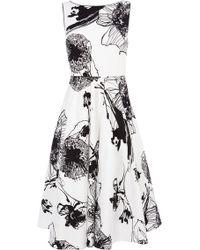Coast Rebecca Print Dress multicolor - Lyst