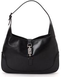 Gucci Jackie Leather Shoulder Bag - Lyst