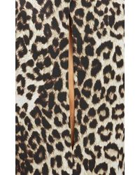 Rag & Bone Leopard-print Midi Dress - Lyst