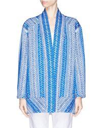 IRO 'Otomar' Jacket blue - Lyst