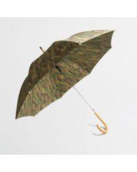 J.Crew Factory Camo Umbrella - Multicolour