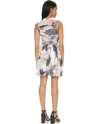 Timo Weiland - Chelsea Dress - Blush/Black/White/Navy - Lyst
