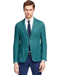 Brooks Brothers Linen Sport Coat - Lyst