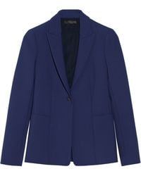 The Row Leena Stretch-Scuba Blazer - Lyst