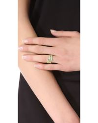 Jamie Wolf - Gold Vine Ring With Tsavorite - Gold - Lyst