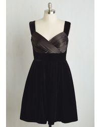 ModCloth | Va Va Velvet Dress | Lyst