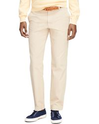 Brooks Brothers Milano Fit Garment-dyed Chinos - Lyst