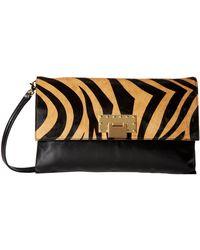 Badgley Mischka Dakota Stripes Shoulder Bag - Lyst